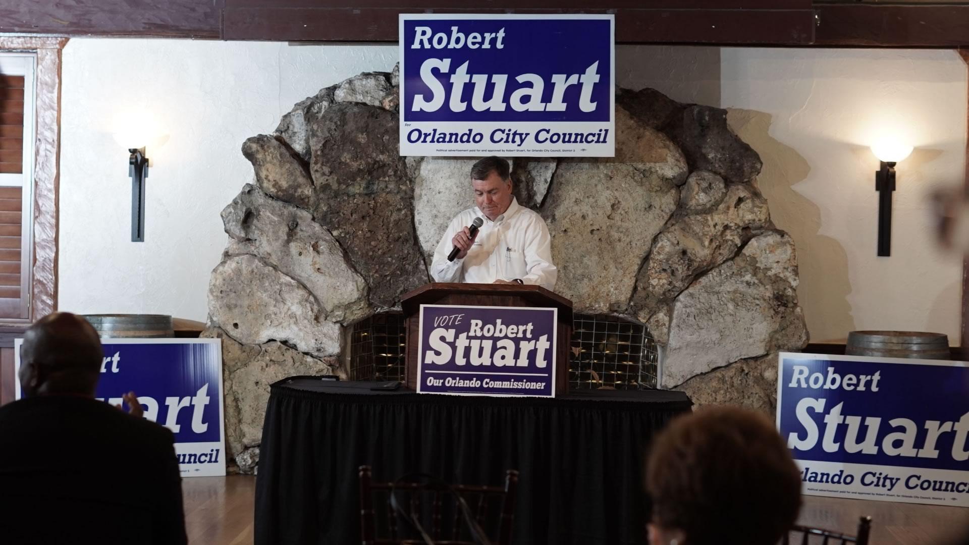Re-Elect Robert Stuart